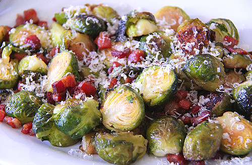 Image result for brussel sprouts with pancetta