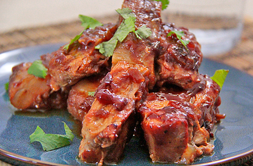 Braising Week Braised Pork Riblets