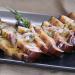 Smoke Week: Smoked Eggplant with a Sweet Lemon Vinaigrette