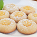 Lemon Thumbprint Cookies with Lemon Curd Filling